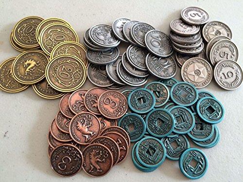 Scythe: Metall Münzen Add-On