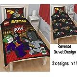 Lego Batman POW Single Duvet Cover