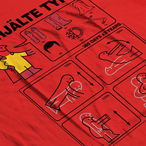 Hero Type S Ikea Instructions One Punch Man Men's Vest Red