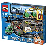 Categoria/Sottocategoria:Building KitArticolo:LEGO CITY 60052 CARGO TRAIN Confezione da 1PZBuilding Kit Recommended age from 6 to 12 years Move heavy goods - and animals! - around the city with the super-powerful LEGO City Cargo Train! This awesom...