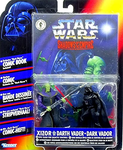Preisvergleich Produktbild Prince Xizor vs. Darth Vader Comic Pack - Star Wars Power of the Force Collection von Hasbro / Kenner