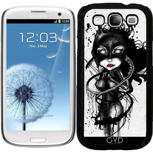 (DesignedByIndependentArtists Hülle für Samsung Galaxy S3 (GT-I9300) - Krallen Lynx by Rouble Rust)