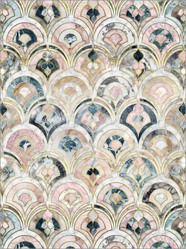 poster-30-x-40-cm-art-deco-marble-tiles-in-soft-pastels-de-micklyn-le-feuvre-impresion-artistica-de-
