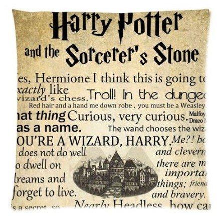 Funny Cases Retro de Harry Potter carcasa color 45,72 cm x 45,72 cm fundas de almohada con cremallera...