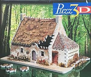 Puzz 3D maison bretonne