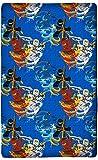 'sábana bajera Lego Ninjago 90/100cm x 190/200cm 'Diseño Blue Tornado–Nuevo & embalaje original–100% algodón–Cole–Jay–Kai–Lloyd–Zane–Nya–Misako–Sensai WU–Sábana bajera ajustable–Sábana–Sábana bajera–Sábana bajera–A Juego con la ropa de cama