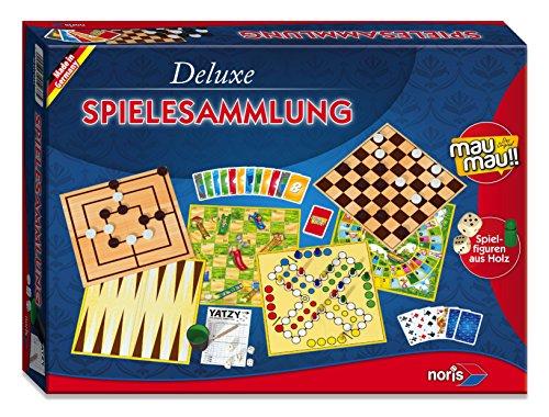Noris Spiele 606111237 - Deluxe Spielesammlung