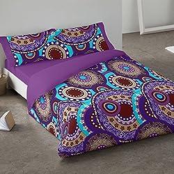 Funda nórdica con Mandalas para camas de 90x190/200 cm
