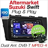Auto GPS DVD-Player Digital TV Suzuki Swift Stereo-Radio USB MP3 CD Faszie Kit