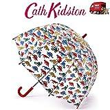 Sombrilla para niños con sello de Dino Funbrella de Cath Kidston para caminar con cúpula de pájaros de 68,5 cm de largo