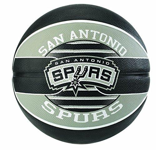 Spalding NBA Team SA Spurs 83-512Z Balón de Baloncesto, Unisex, Multicolor, 7