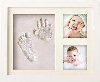 Improntas mano y pie Regalo de D/ía de la Madre Lucky Hands/® Huellas de bebe en 3D Kit completo Beb/és hasta 6 meses 3 moldes