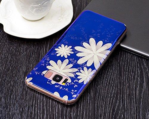 Für Samsung Galaxy S8 Plus Case, Ultra Thin Leichtgewicht Luxus Blue Light Soft TPU Silikon Gel Schutzmaßnahmen zurück Deckung ( Color : J ) A