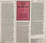 Musik der Reformation, Martin Luther, Johann Walter, Thomas M?ntzer [Doppel-LP] Eterna 827638 - 639
