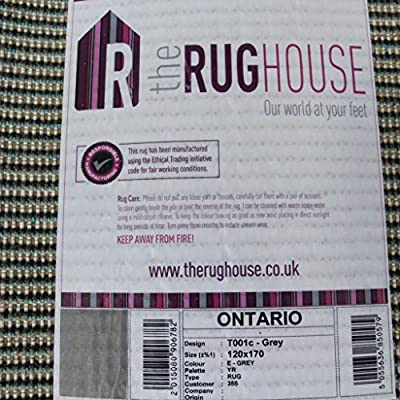 Super Soft Luxury Grey Shaggy Rug 5 Sizes Available - low-cost UK rug shop.