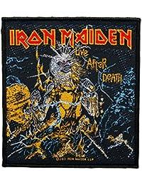 Parche de Iron Maiden,Live After Death,tejido y con licencia oficial