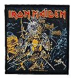 Iron Maiden Aufnäher - Live After Death - Iron Maiden Patch - Gewebt & Lizenziert !!