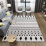 Lyuyu Teppich, Moderne minimalistische Teppiche Wohnzimmer Großraum Baby Etage Mat Nordic Coffee Table Sofa Bedroom Yeppiete-Matte Easy Clean Stain Fade resistent,180 * 280CM