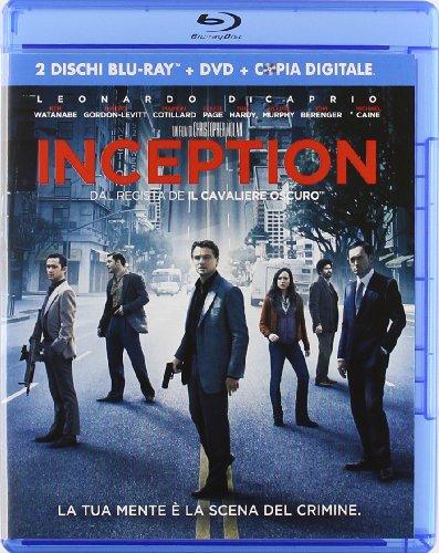 Inception(2 Blu-ray+DVD+copia digitale) [(2 Blu-ray+DVD+copia digitale)] [Import italien]
