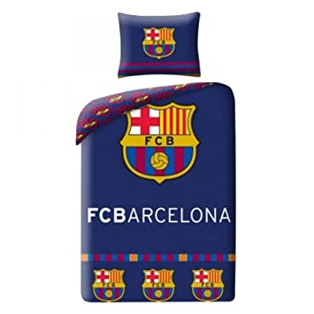 Bettbezug FC Barcelona dunkelblau 140 x 200 cm Bett 1 Person, blau ...