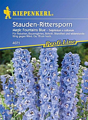 Sperli Blumensamen Rittersporn Magic Fountains, blau/grün