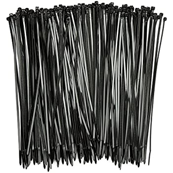 Sealey Cable Tie Assortment Black Pack of 75 inc 100mm 150mm 200mm CT75B