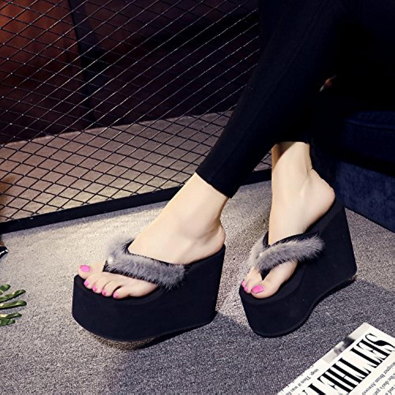 8769d16addb0 AWXJX Summer women s flip flops flops flops Thick bottom High heel Pinch  Slope B07CGLH5RZ Parent 2d99e7. Women Boots The New ...