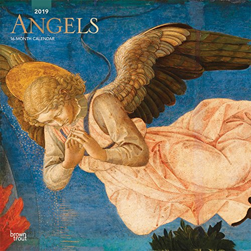 Angels 2019 Square Wall Calendar por Inc Browntrout Publishers