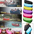 Inflatable Beach Lounger Sofa Air Bed Festival Camping Travel Holiday Laybag