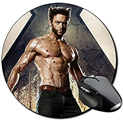 X Men Days Of Future Past Lobezno Wolverine B Alfombrilla Redonda Round Mousepad PC