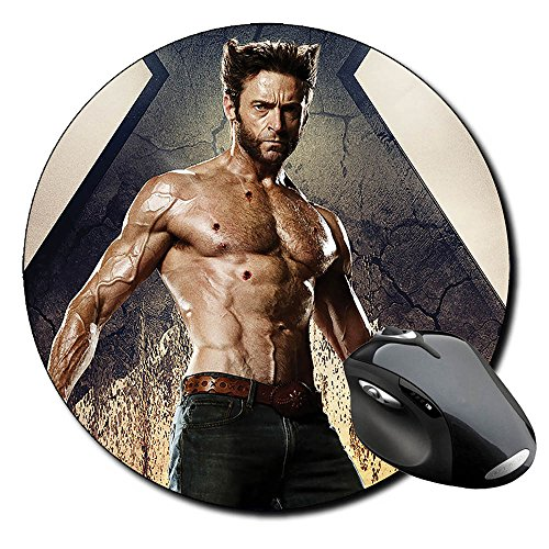 X Men Days Of Future Past Lobezno Wolverine B Alfombrilla Redonda Round Mousepad PC