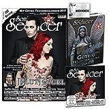 Gothic Taschenkalender 2015 + Sonic Seducer 02-2015 mit Blutengel Titelstory (insg. 352 Seiten), exkl. Vorab-Song vom Album Omen, exkl. Eisbrecher Sticker + CD, Bands: Marilyn Manson u.v.m.