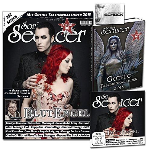 Sonic Seducer 02-2015 mit Blutengel Titelstory + exkl. Vorab-Song vom Album Omen, Gothic Taschenkalender 2015 (insg. 352 Seiten), exkl. Eisbrecher Sticker + CD, Bands: Marilyn Manson u.v.m.