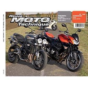 Revu Moto Technique, n°155 : Triumph Daytona et Street Triple 675 cm3 (Modeles 2006/10) – Kawasaki Z1000 (Modeles 2007/09)