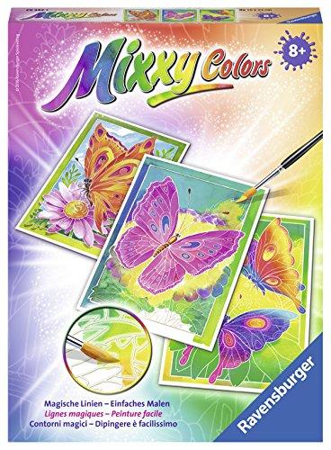 Ravensburger Mixxy Colors 29342 - Schmetterlinge, Malsets