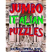 Jumbo Italian Puzzles: 111 Large Print Italian Word Search Puzzles