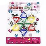 #5: 37pcs Magnetic Building Blocks Magnetic Sticks Educational Toys Set for Kids Children
