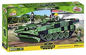 COBI- Stridsvagn 109C, Tanque, Color Verde y Negro (2498)