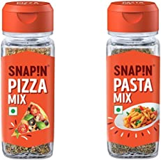 Snapin Pizza Mix and Pasta Mix, 75g