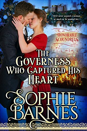 The Governess Who Captured His Heart (The Honorable Scoundrels Book 1) book cover