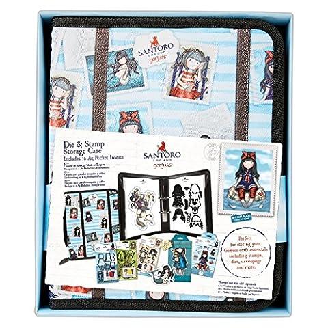 Santoro Gorjuss Postal Craft Collection - Die & Stamp Storage Solution Case