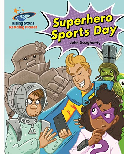 Superhero sports day