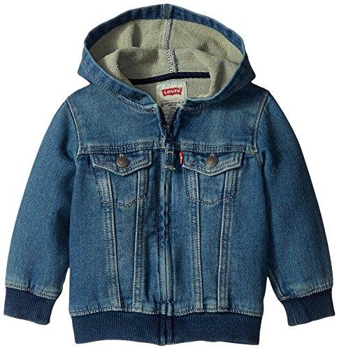 Levi's Baby Boys' Knit Trucker Hoodie,Waverly, 18 Months