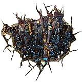 ZH -3D dreidimensionale Mode Boden wandgemälde kreative wohn - und Schlafzimmer Boden des gartens Dekoration Bild Mauer 59 * 57cm