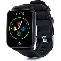 Tres Care C303 Smart Health Band, Bluetooth - Black