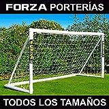 FORZA Portería de Fútbol PVC - Amplia Gama de Tamaños (1,8m x 1,2m)