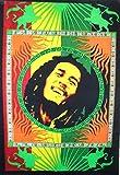 Traditionnel Jaipur Hippie, Poster, Affiche Bob Marley Tapisserie mur indien, ou Résidence Décoration de salle, Bohème mur couvre-lit, Gypsy, Boho mur Art 76,2x 101,6cm