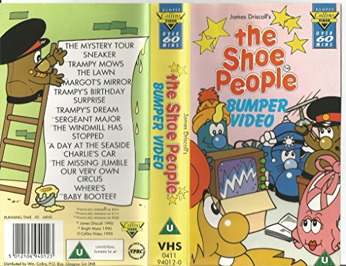 shoe-people-bumper-video-vhs-uk-import