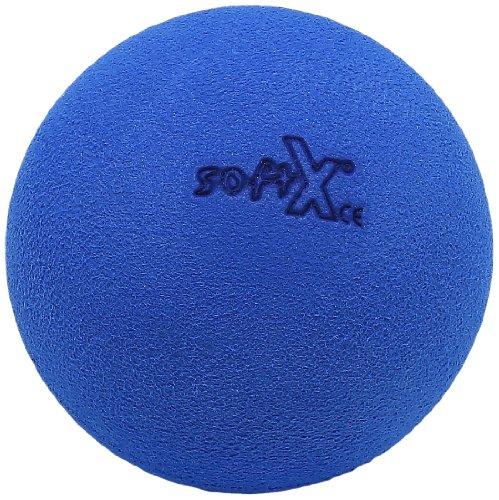 softX Faszien Trainingsgerät Kugel 90, blau, ca. 9 x 9 x 9 cm