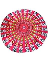 Indien Mandala Tapisserie Hippie Mur Pendaison Bohème Dortoir Couvre-lit